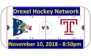 Highlights: Drexel vs. Temple Hockey