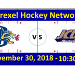 Video: Drexel vs. John Carroll University Hockey Game Broadcast (with Highlights)