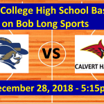 La Salle vs. Calvert Hall Basketball Game Broadcast