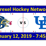 Drexel vs. University of Buffalo Hockey Broadcast (January 12, 2019)