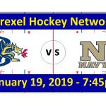 Drexel vs. Navy Hockey Broadcast