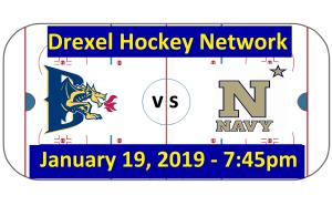 Drexel vs. Navy Hockey Broadcast