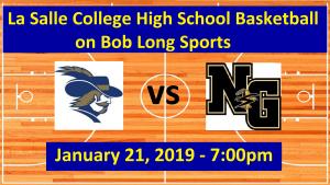 La Salle vs. Neumann Goretti Basketball Highlights/Game Broadcast