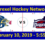 Drexel University vs. Duquesne University Hockey Broadcast