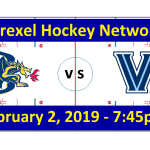 Drexel vs. Villanova Hockey Broadcast